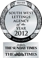 Lettings agency awards 2012